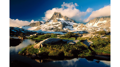 Banner_Peak_and_Thousand_Island_Lake_Ansel_Adams_Wilderness_California